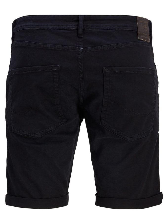 SHORT EN DENIM EXTENSIBLE RICK DASH 297 NOIR