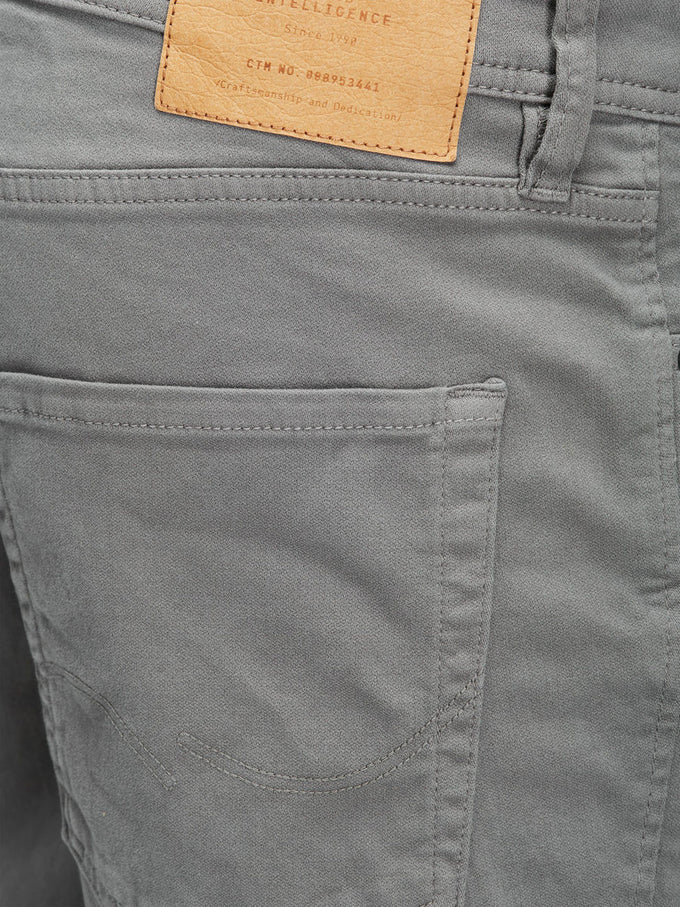 SHORT EN DENIM EXTENSIBLE RICK DASH 297 GRIS