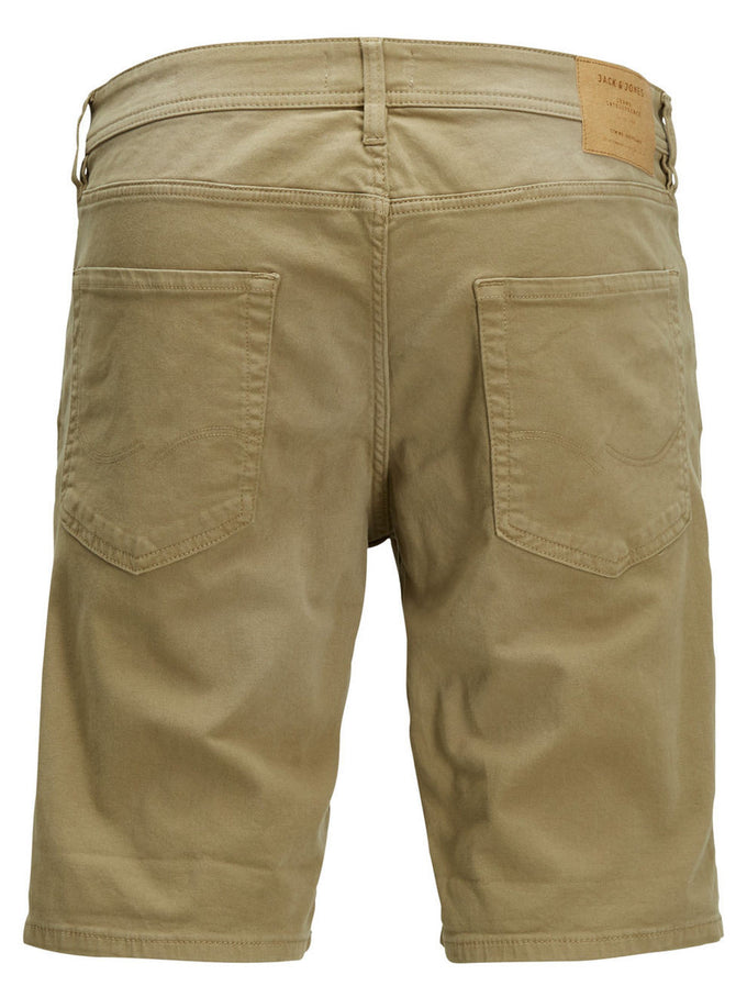 SHORT EN DENIM EXTENSIBLE RICK DASH 297 BEIGE