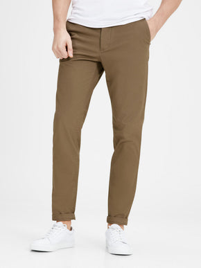 CLASSIC TAN CHINO PANTS