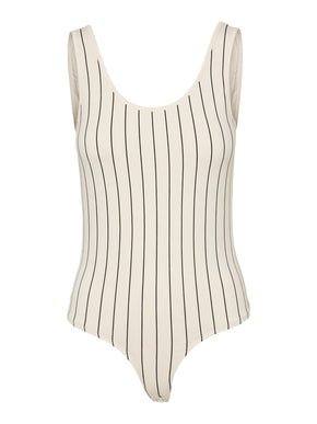 Colla striped bodysuit