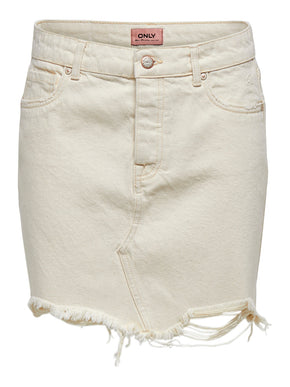 SKY VINTAGE DENIM MINI SKIRT