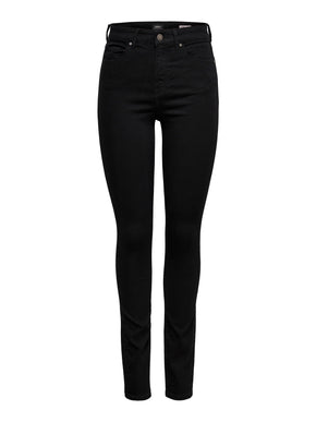 SOLID SKINNY JEANS