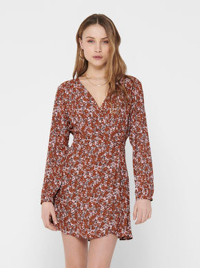Augie long sleeves dress