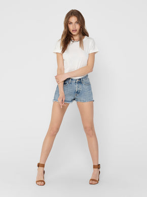 Short en denim Fine