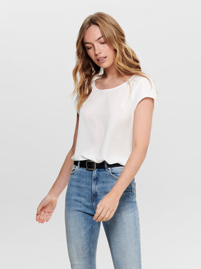 Nova short sleeves blouse