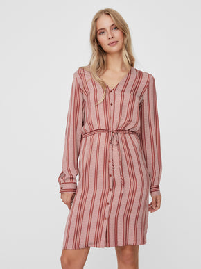 Juna long sleeves shirt dress