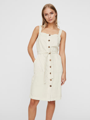 Adalie buttoned dress