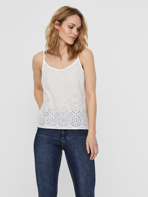 Camisole en broderie anglaise Halo