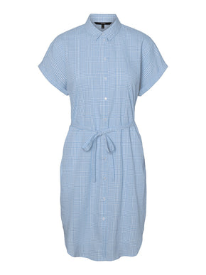 HEAVEN VICHY SHIRT DRESS