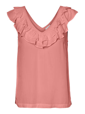 AWARE Louisa ruffle top