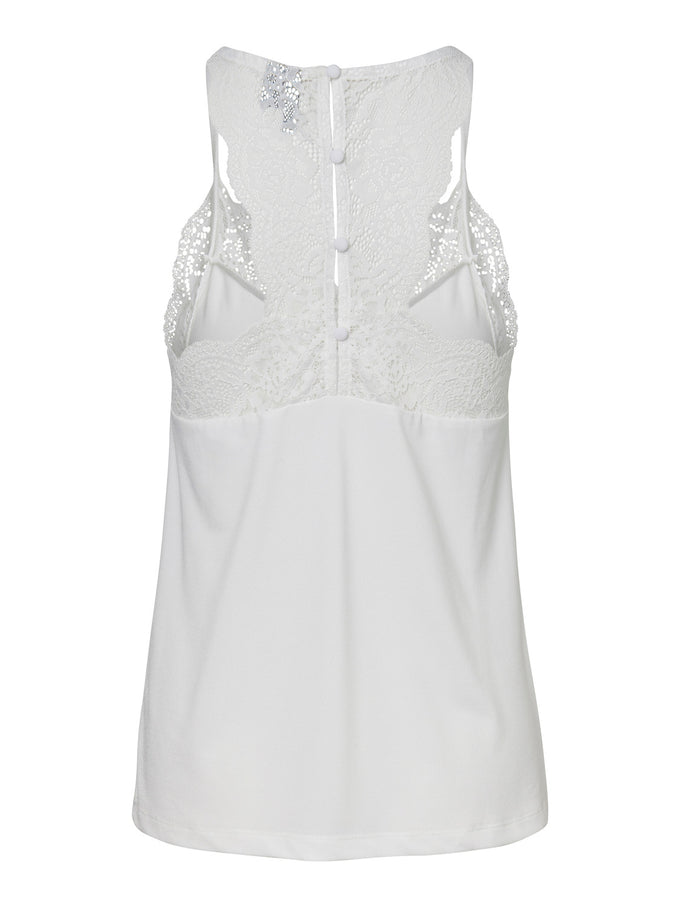 Ana lace cami SNOW WHITE