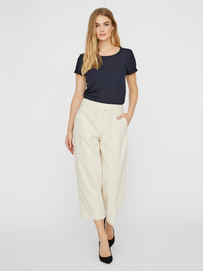 Kira high waist cropped pants