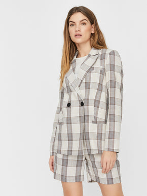 Molly Plaid Blazer