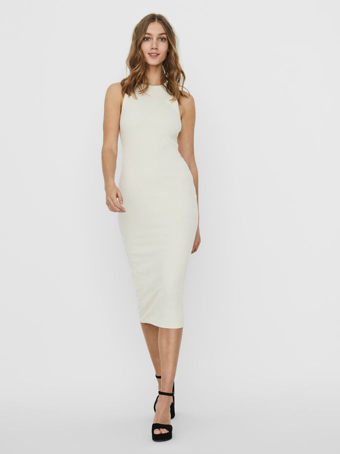 AWARE | Lavender bodycon midi dress BIRCH