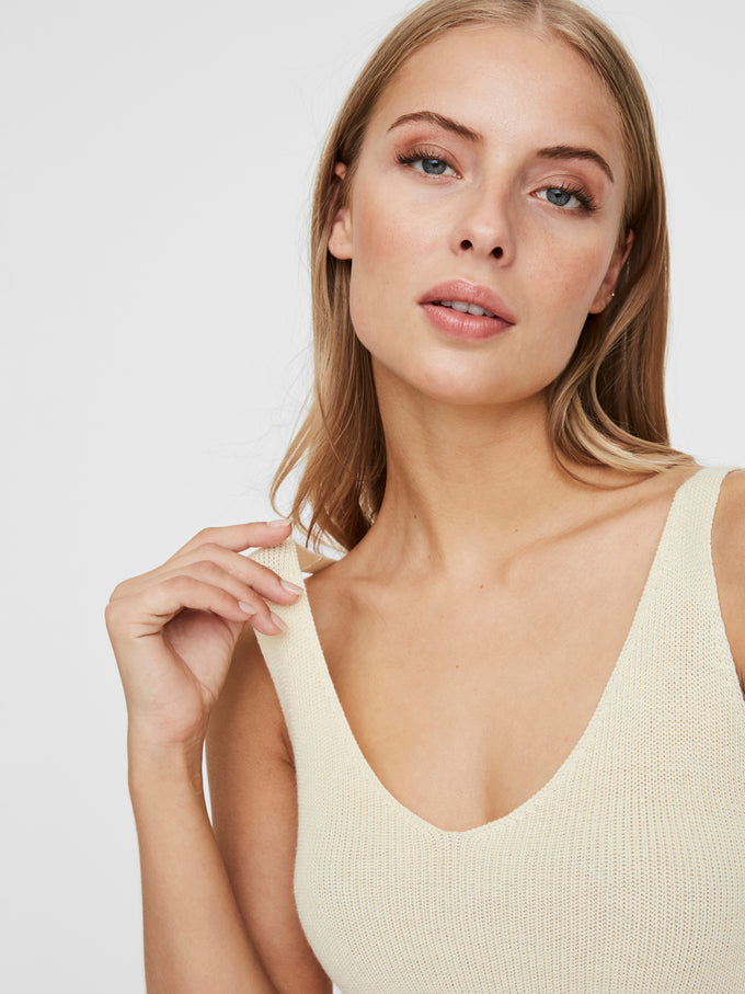 Lexsun knitted cami BIRCH