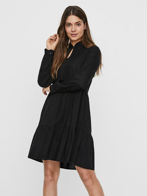 JILLEY LONG SLEEVES SHORT DRESS