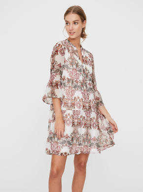 Kay bell sleeves dress