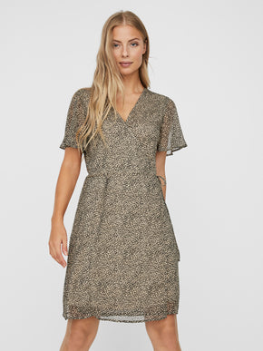 KAY WRAP DRESS