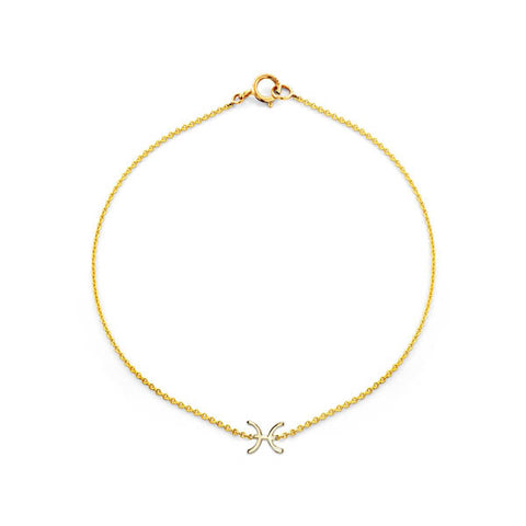 Image of Pisces Gold Bracelet