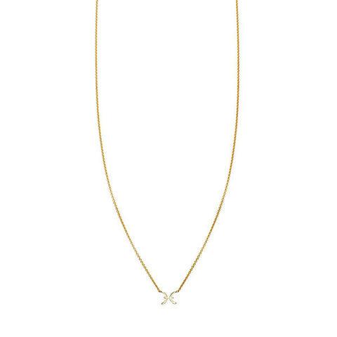 Image of Pisces Gold Necklace