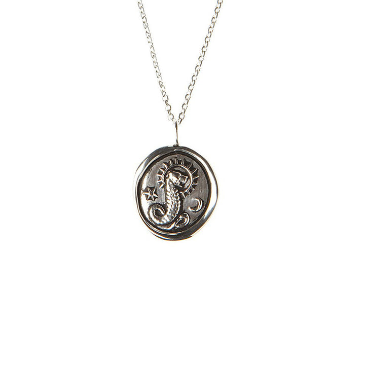 Image of Demiurge Impressed Wax Seal Necklace