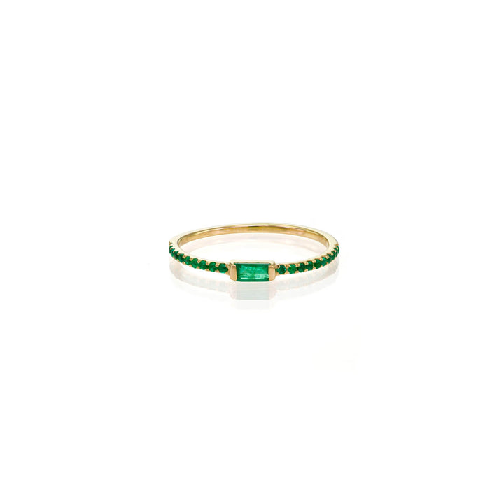 Image of Emerald Baguette Ring