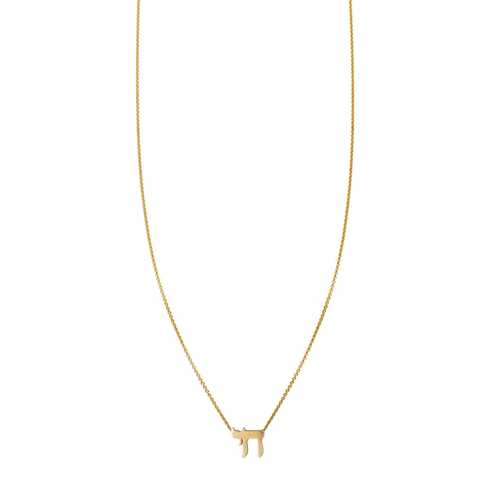 Image of Gold Chai Necklace