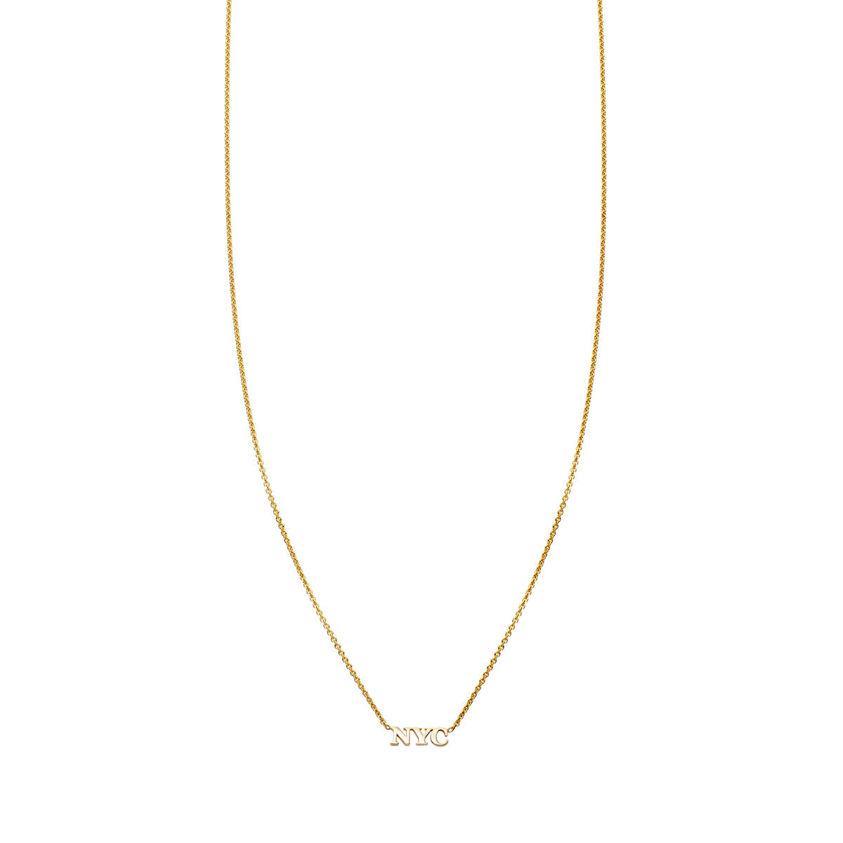Image of Gold NYC Necklace