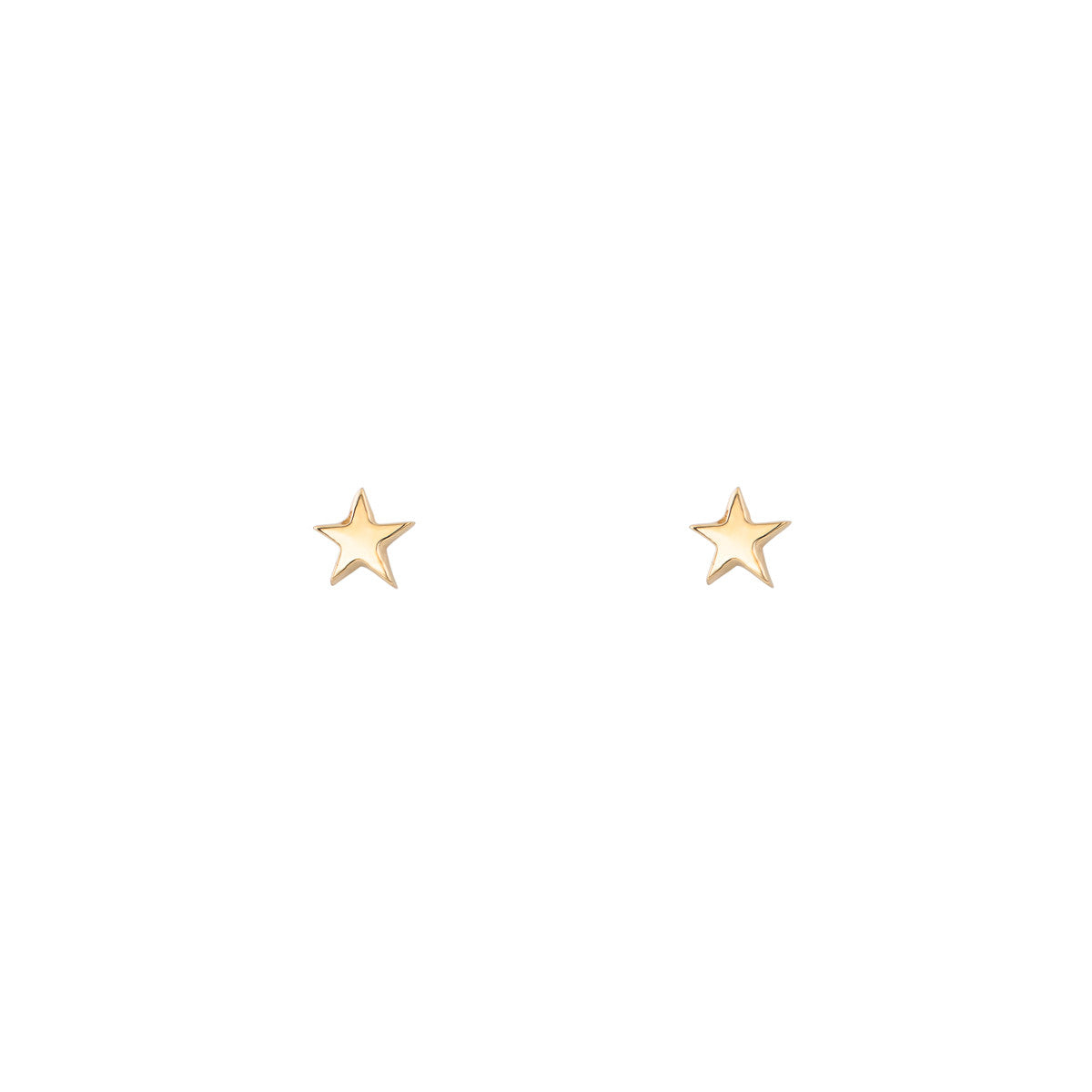 Gold Star Earrings - Phoenix Roze