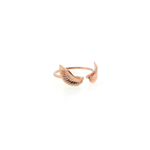 Gardian angel wings ring