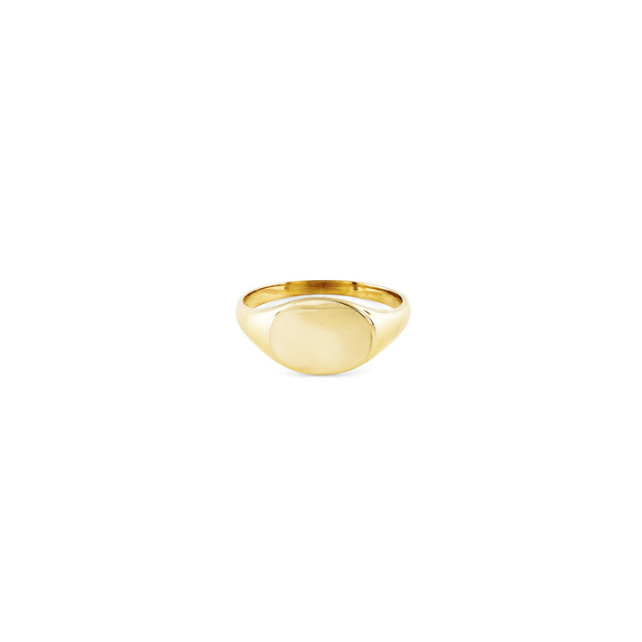 Image of Women's Gold Signet Ring