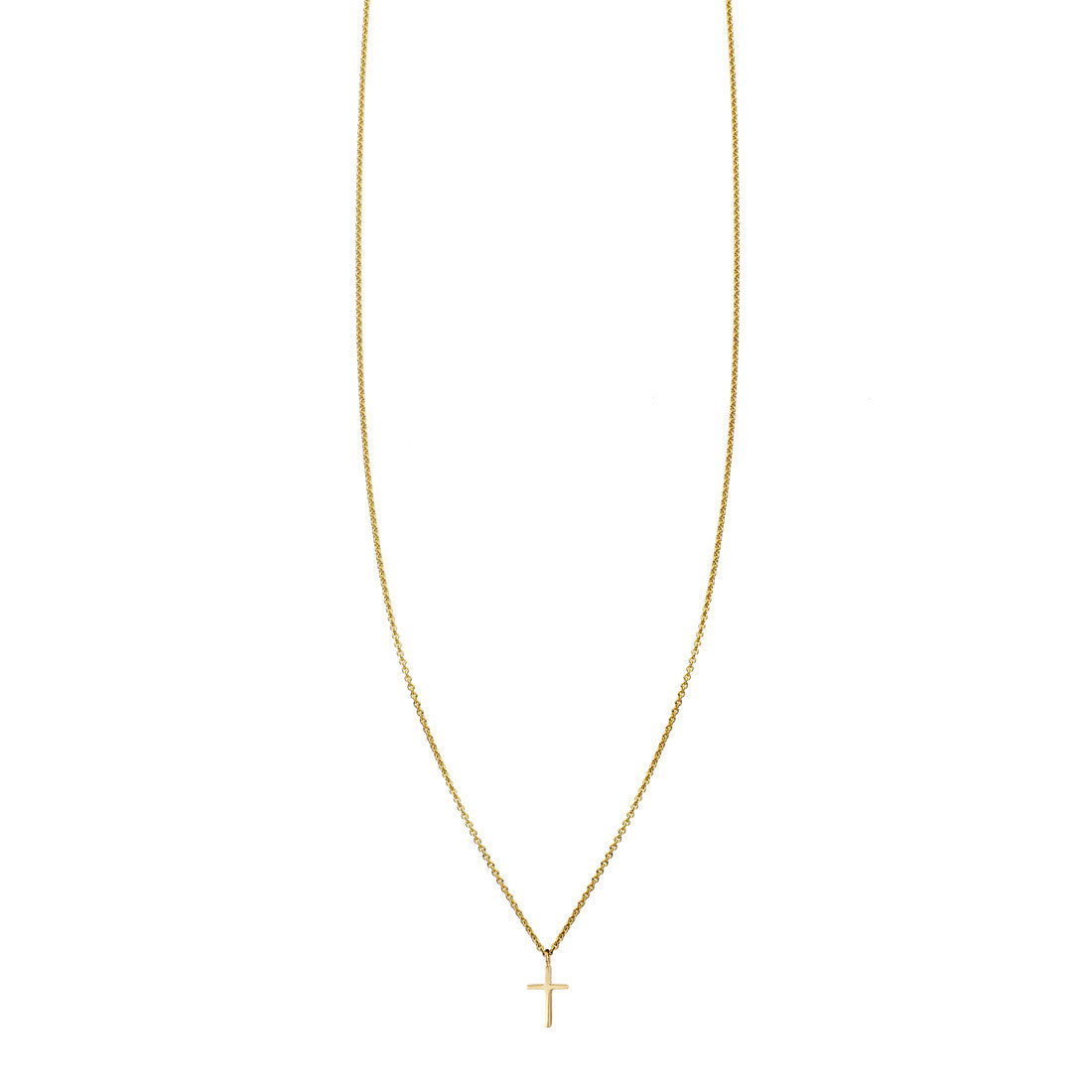 Baby Cross Gold Necklace