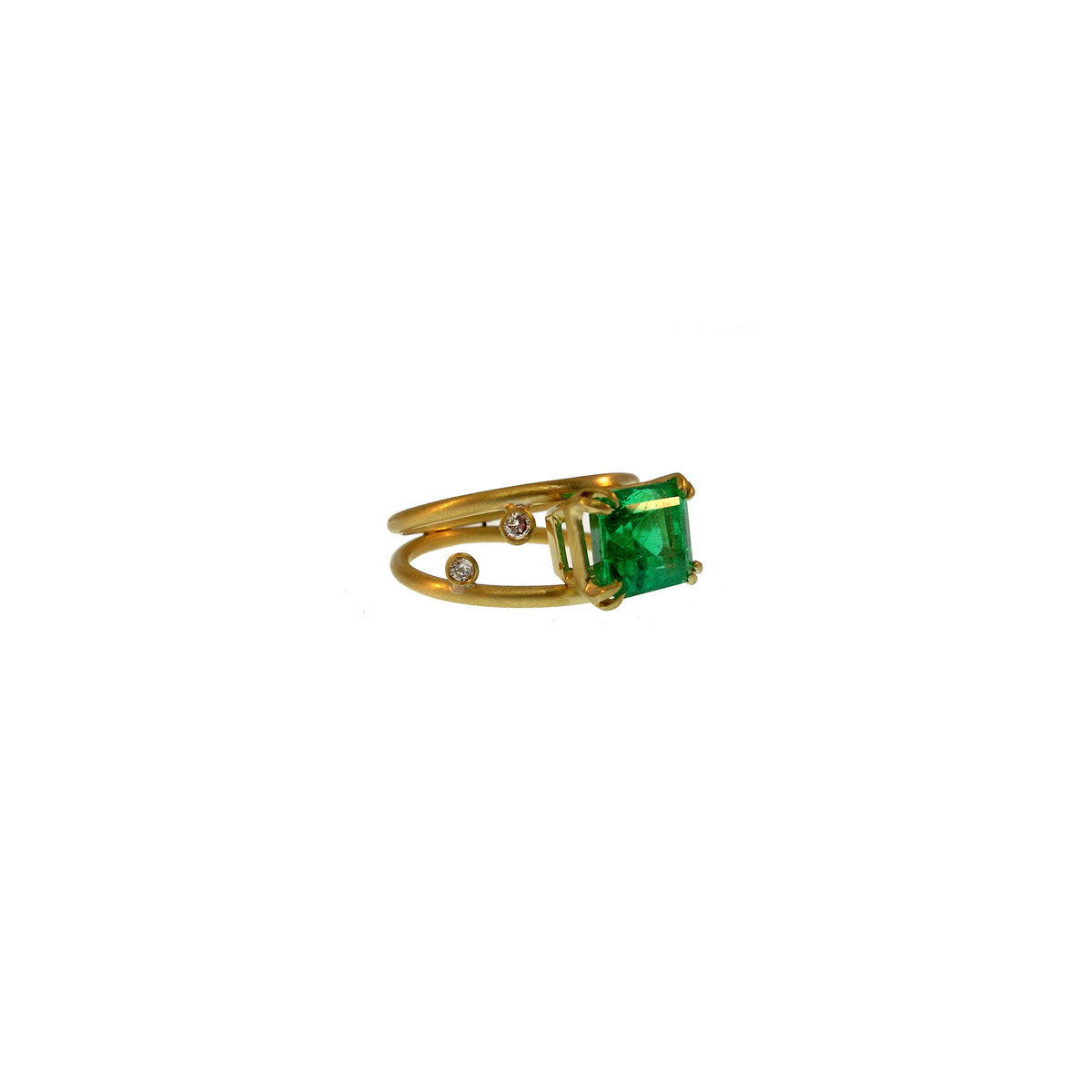 Image of 4-Carat Emerald Ring