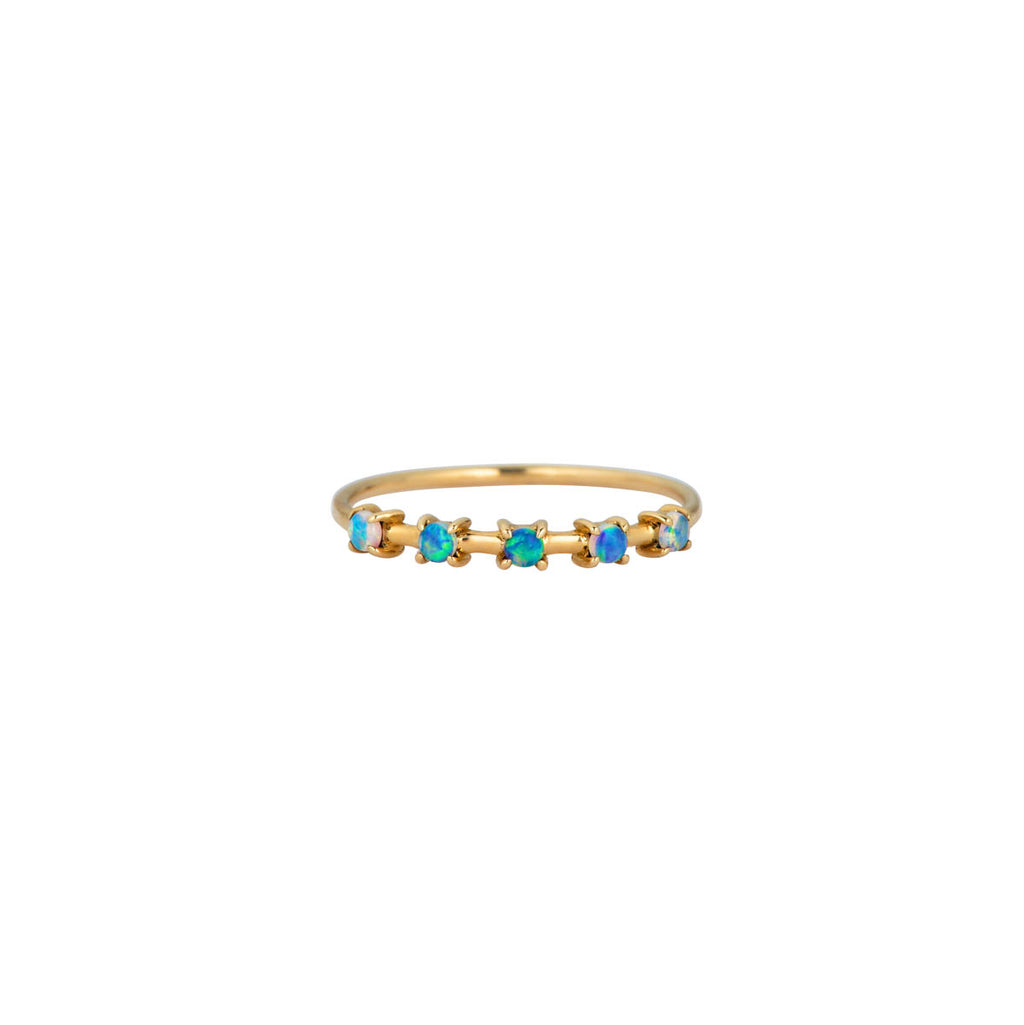 Image of Prong Set Opal Ring