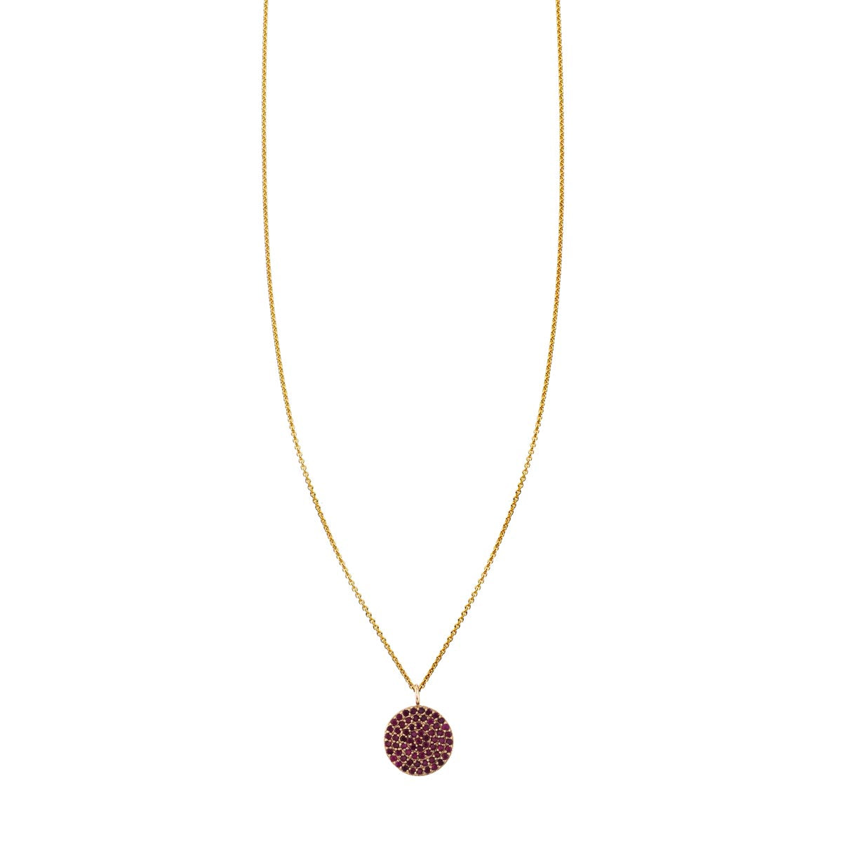 gold rose ruby necklace red necklaces quartz shop
