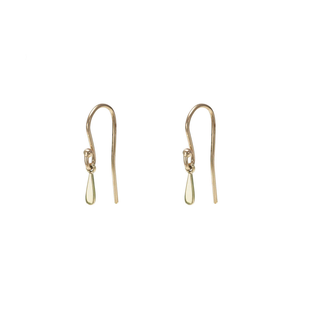Single Drip Drop Gold Earring