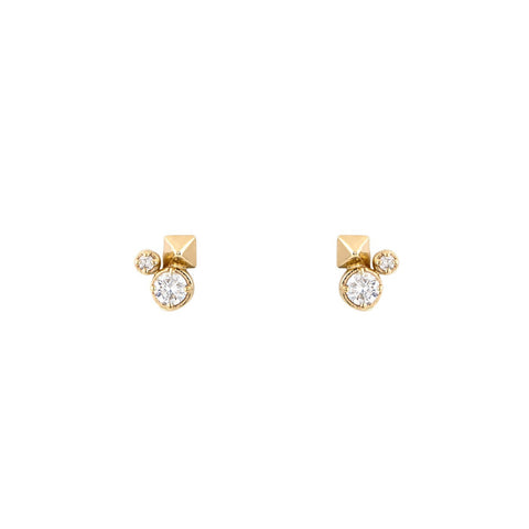 Spike & Ice Stud Earrings