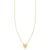 Sun Shield Gold Necklace - Phoenix Roze