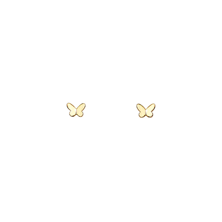 Image of Tiny Butterfly Stud Earrings