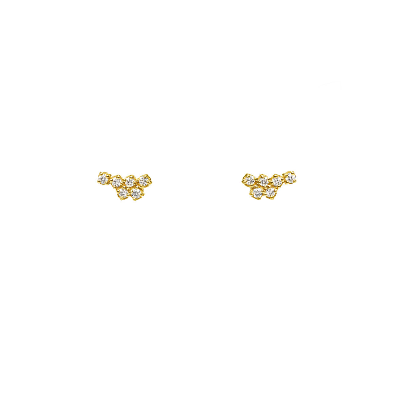 Image of Tiny Cluster Earrings