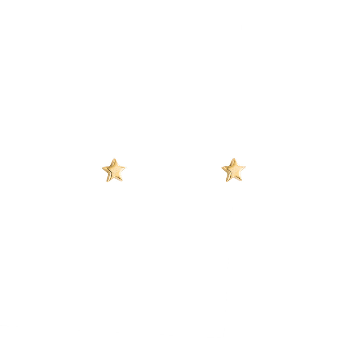 modern gold solid studs pin stud mm minimalist earrings tiny simple