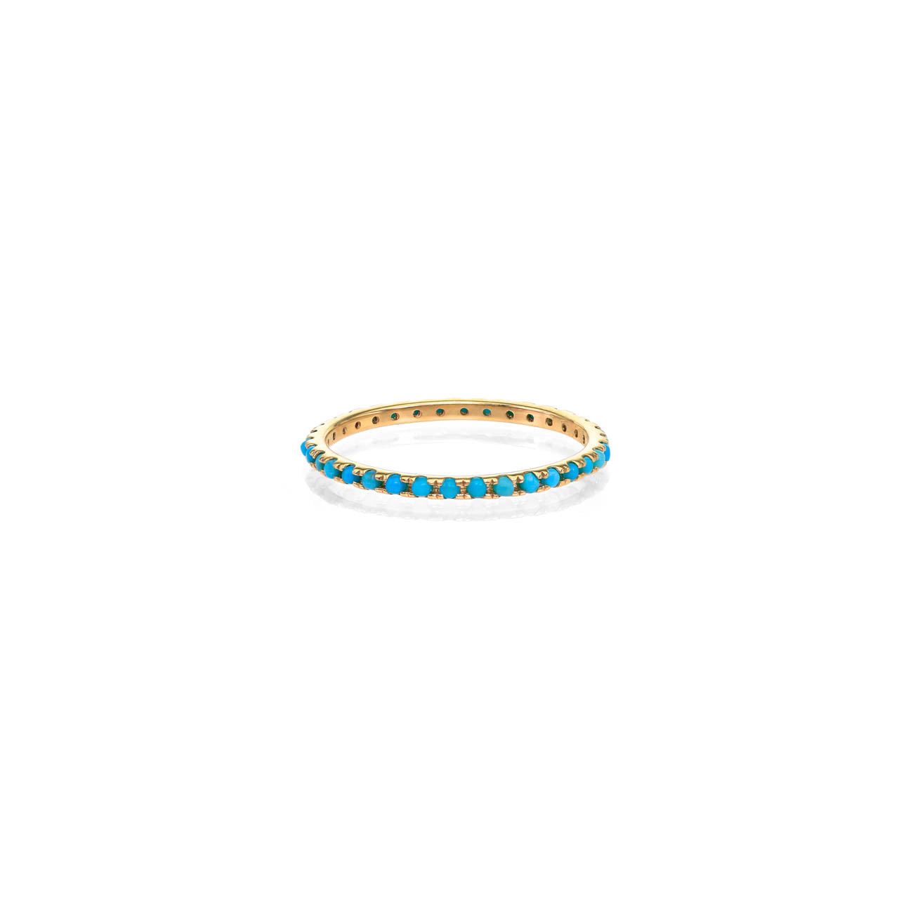 Image of Turquoise Eternity Band