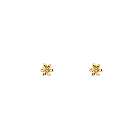 Venus Flower Stud Earring