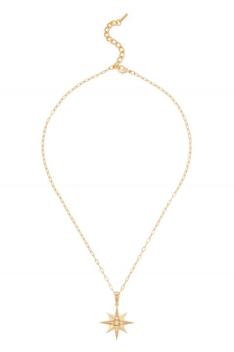 Aden Newyork The North Star Necklace