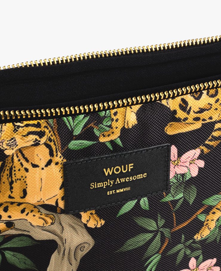 wouf Black Lazy Jungle 13'' Laptop Kılıfı