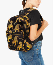 wouf Black Leopard BackPack - Sırt Çantası