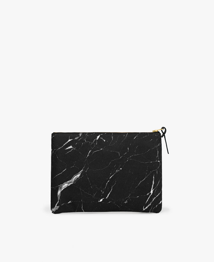wouf Black Marble Large Pouch - Portföy