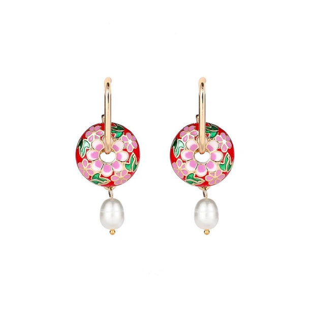 Maira Jewelry BOHEMIA DROP in PINK
