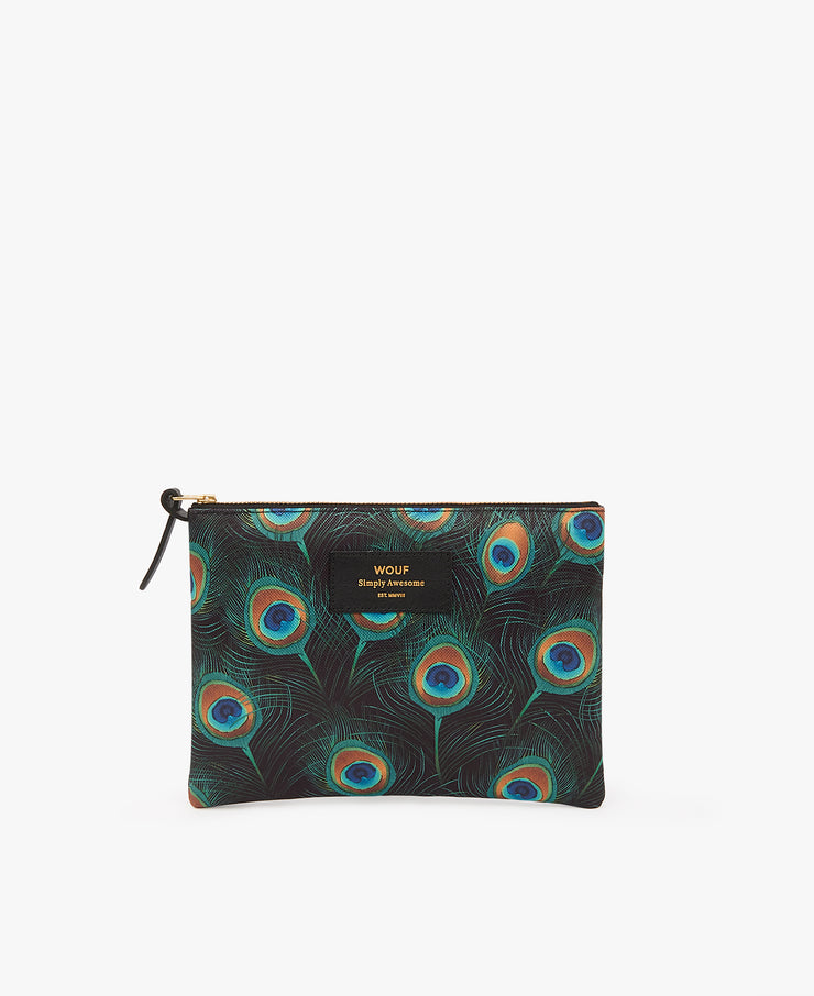 wouf Peacock Large Pouch - Portföy